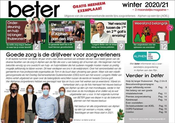 Voorpagina BETER WINTER 2020